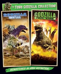 Box art for Godzilla: Tokyo S.O.S. & Godzilla Final Wars