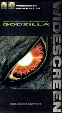 Cover art for Godzilla VHS