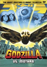 Cover art for Godzilla vs. Mothra DVD