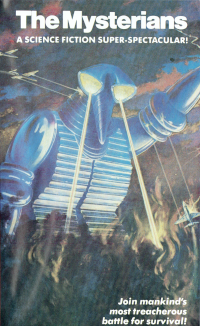 Cover art for The Mysterians VHS
