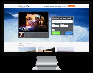 Surf Website Design