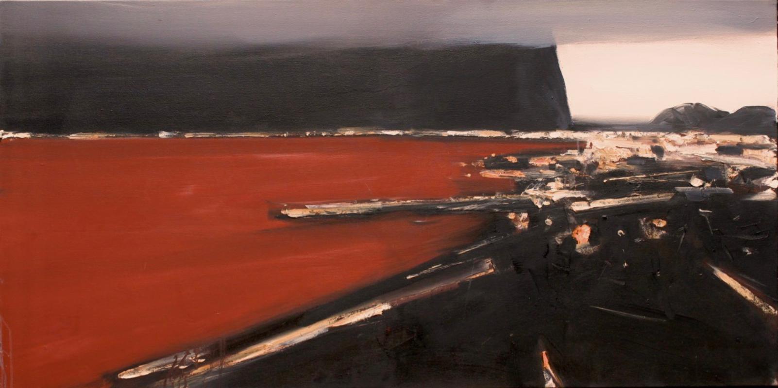 Ørnulf Opdahl viser nye malerier og akvareller i Galleri Ismene