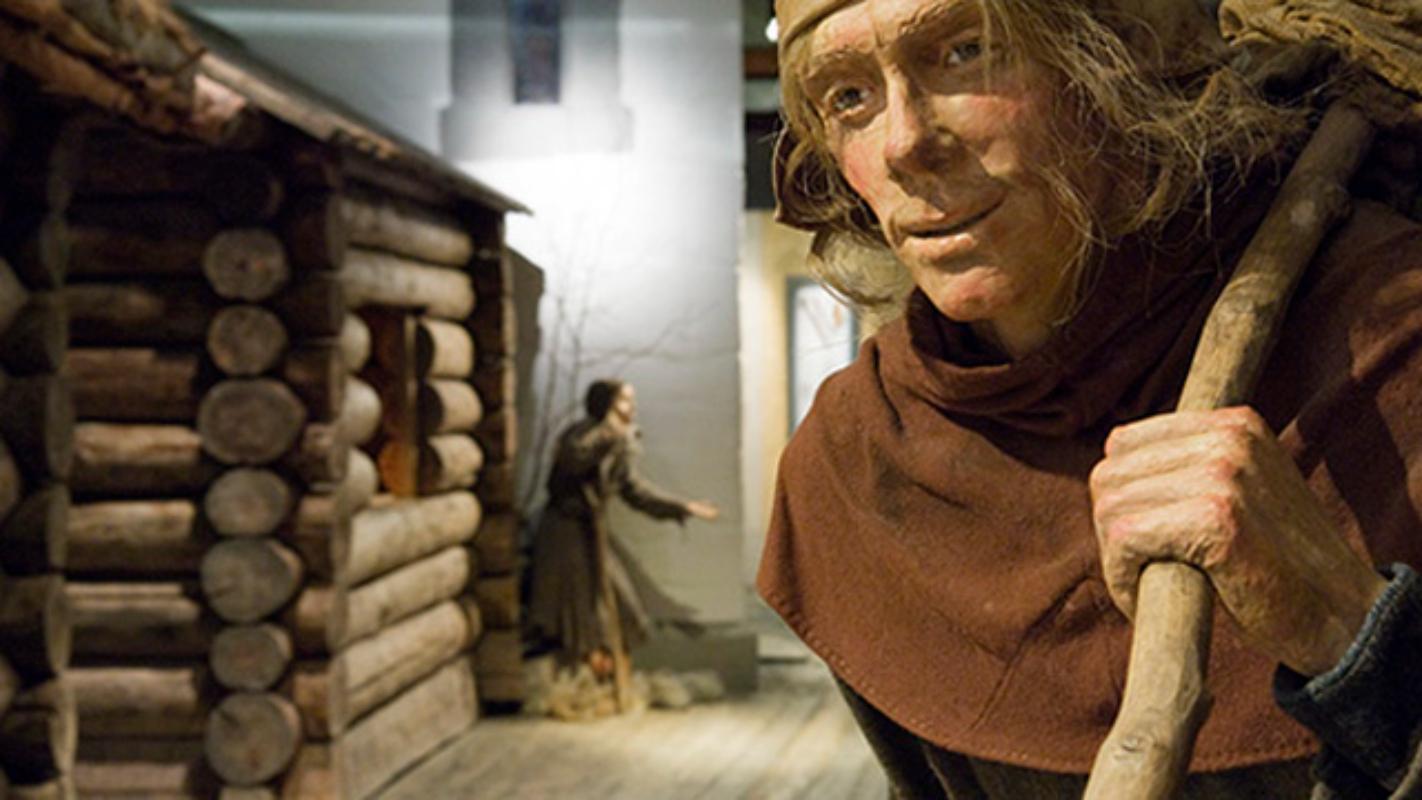 Middelalderutstillingen. Foto: Åge Hojem, NTNU Vitenskapsmuseet