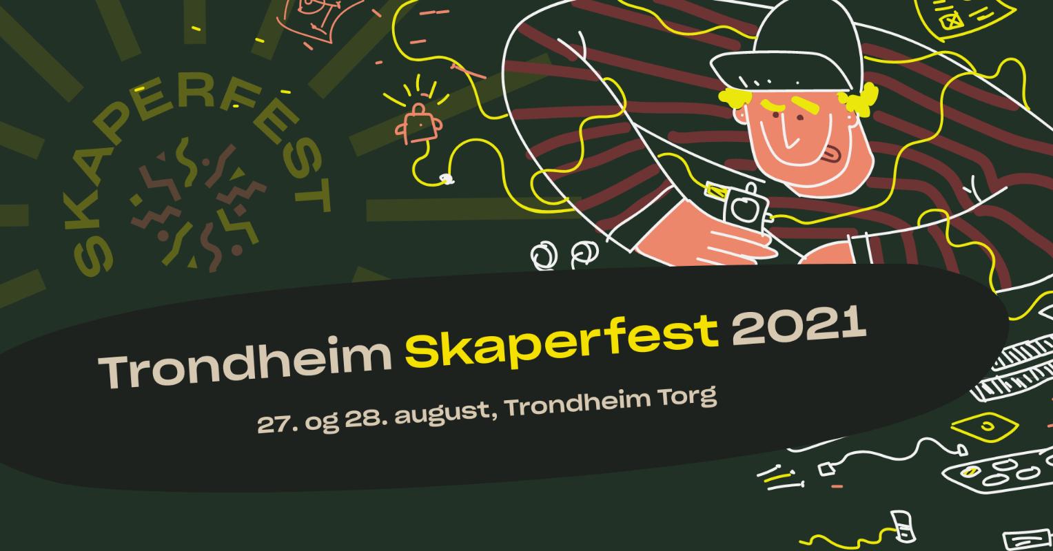 Illustrasjon: Trondheim Skaperfest 2021