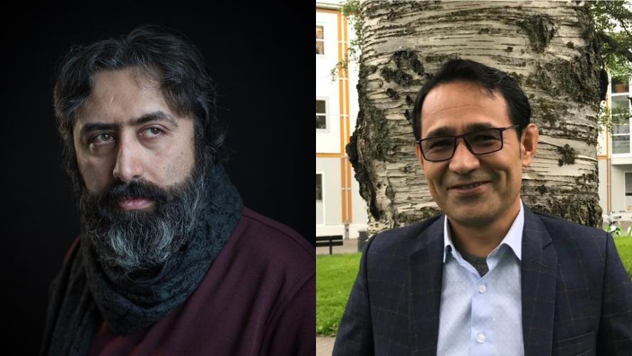 Mehdi Mousavi og Hafizullah Shariati Sahar