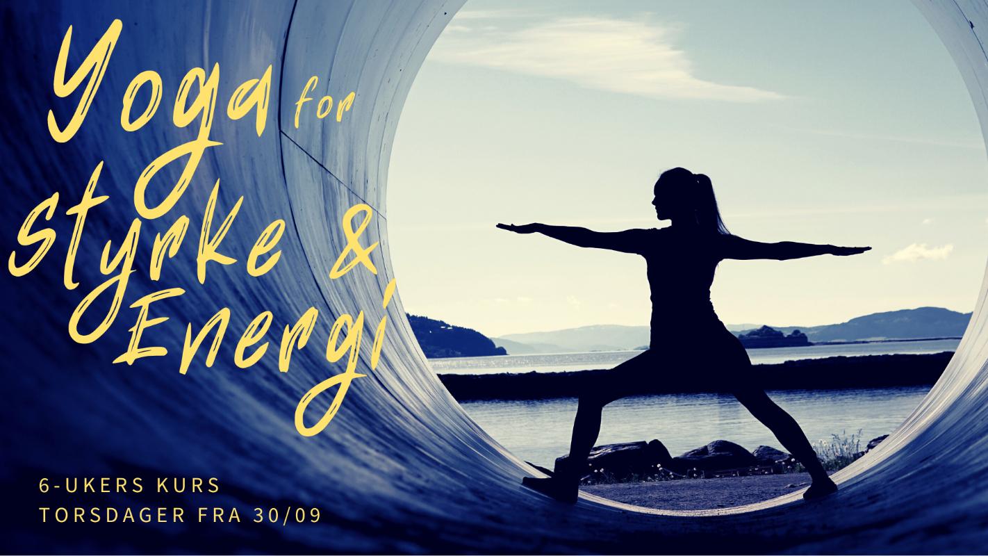 Yoga for Styrke & Energi | 6-ukers kurs