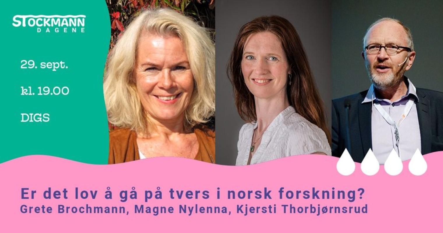 Er det lov å gå på tvers i norsk forskning?