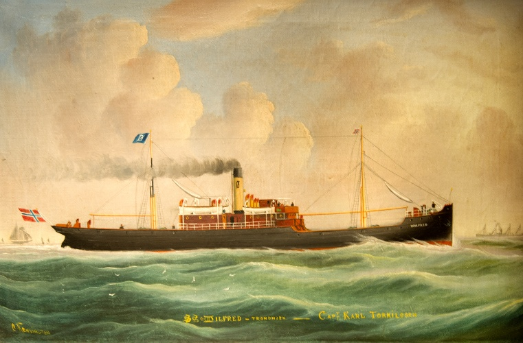 Skip fra Det Selmerske rederi