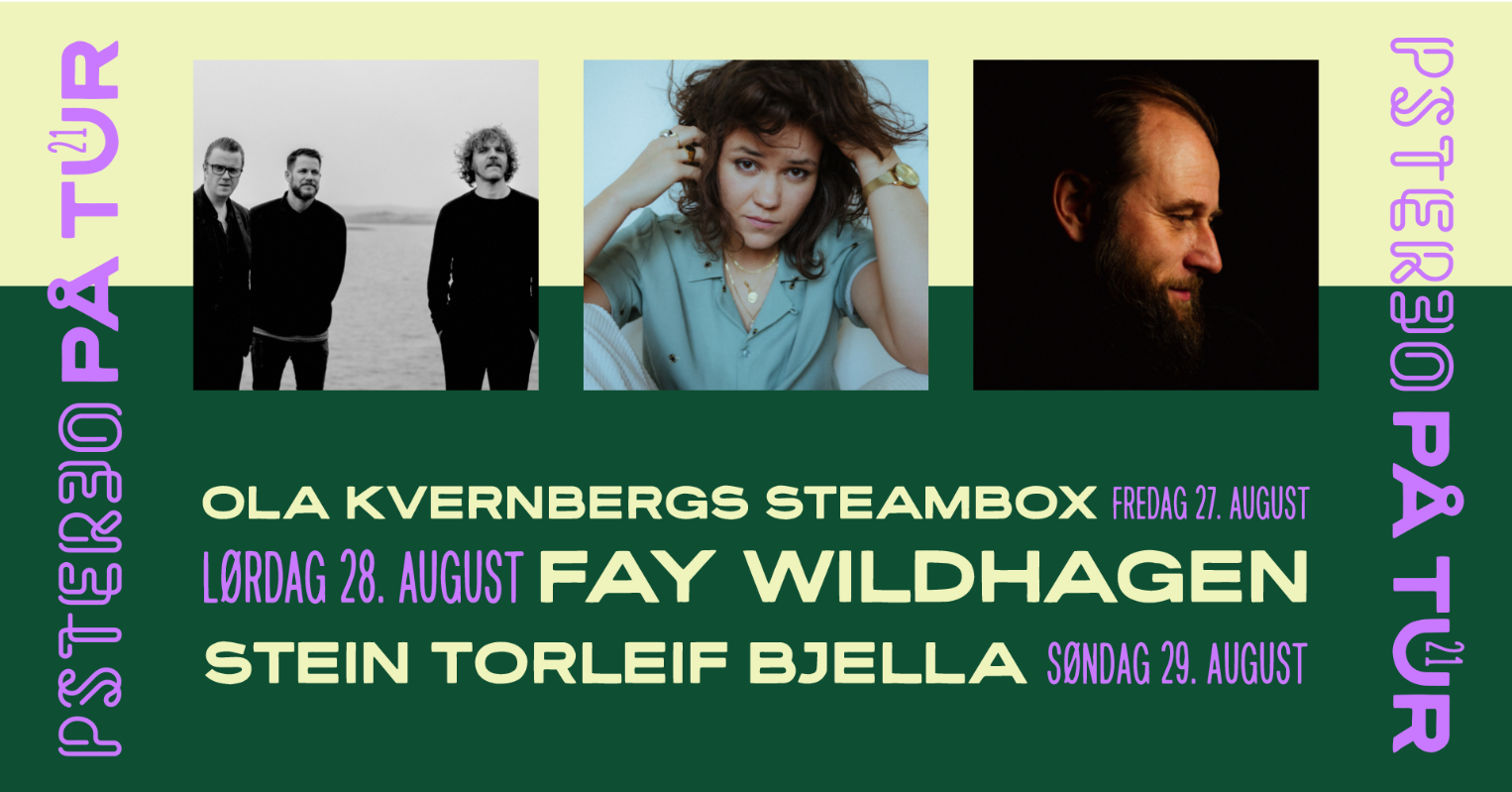 Pstereo på tur: Ola Kvernbergs Steambox