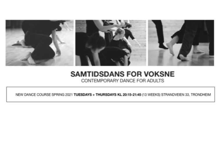 Kurs i Samtidsdans/ Contemporary Dance for Adults
