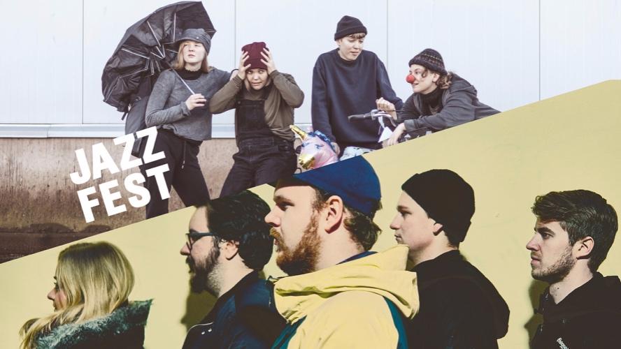 JazzIntro: Skurkar & Front!Front   Jazzfest
