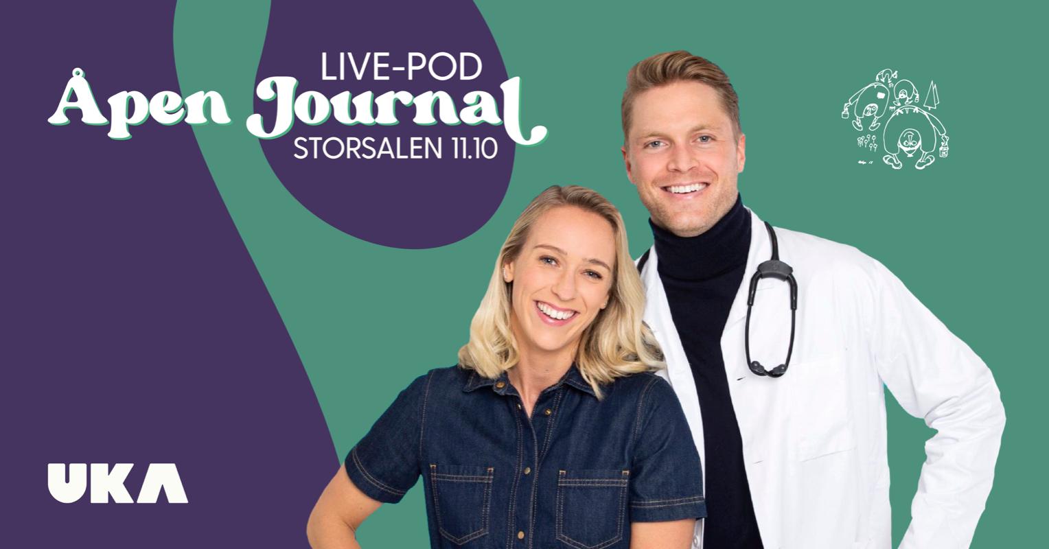 Åpen Journal live-pod