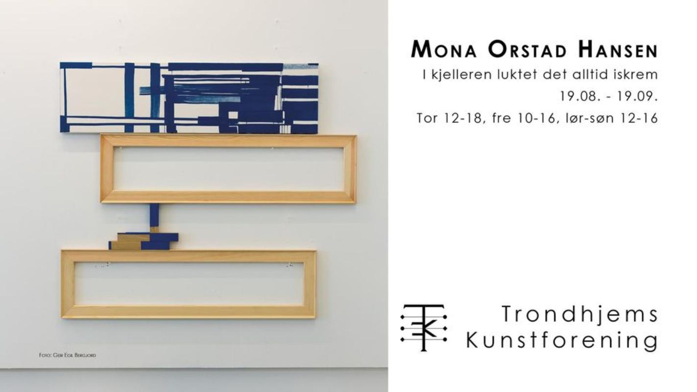 """Mona Orstad Hansen """"I kjelleren luktet det alltid iskrem"""""""