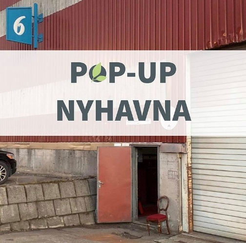 BrukOm pop-up lagersalg på Nyhavna