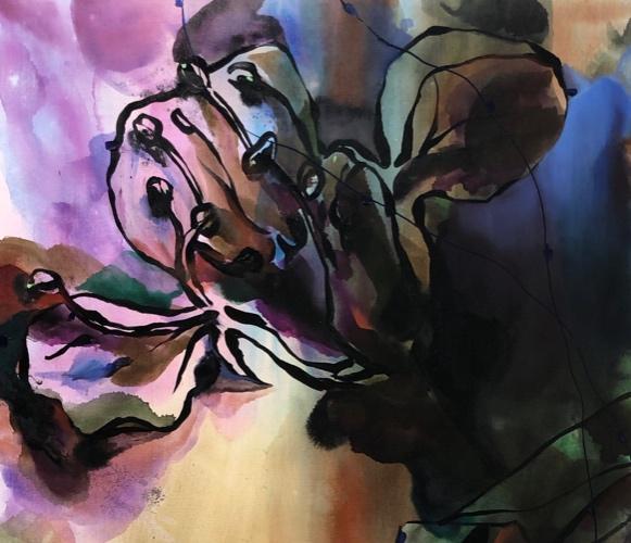 Spenningen mellom det vakre og det brutale, det kraftfulle og det sarte, er et gjennomgående trekk ved Adam Saks' arbeider. Denne dualiteten gjenspeiles også i stillebenets tematikk, hans foretrukne genre, hvor naturens vekst og forfall, liv og død belyses.