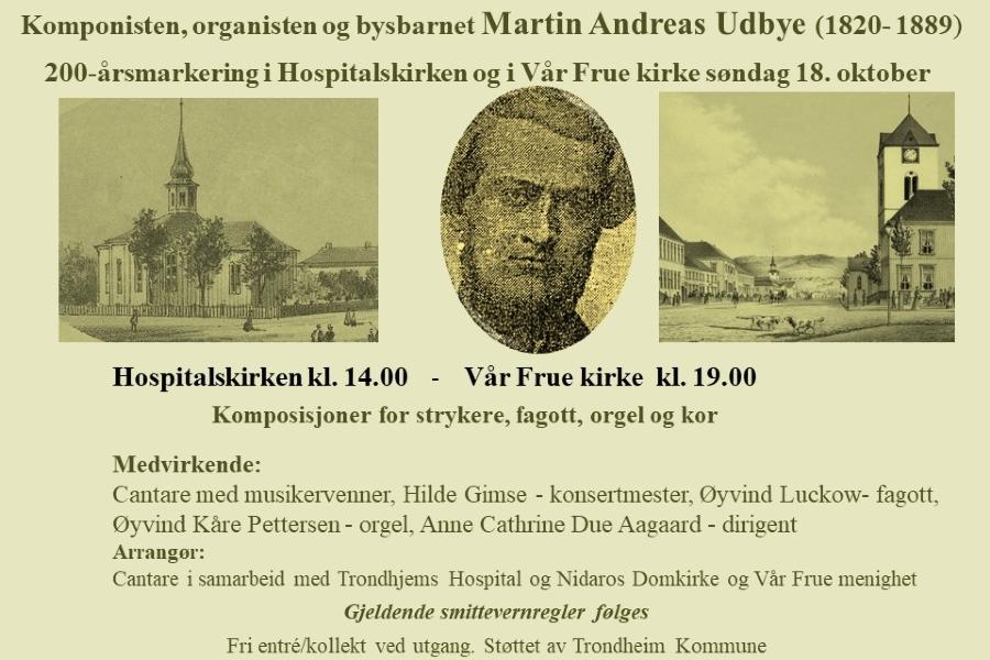 Martin Andreas Udbye 1820 - 2020