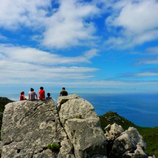 Hike to the Kalk Bay Caves