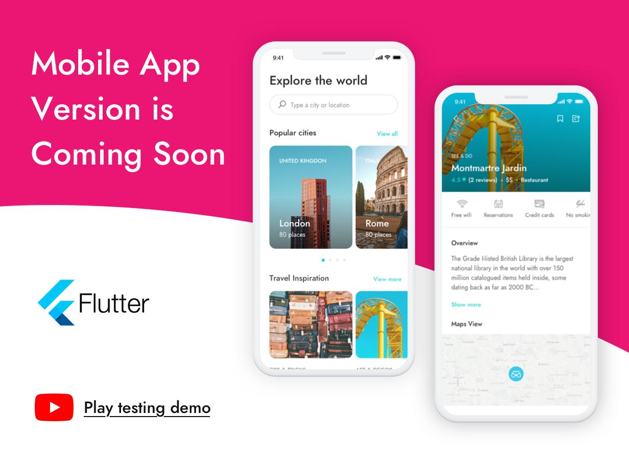 Best City Travel Guide Laravel Theme & App