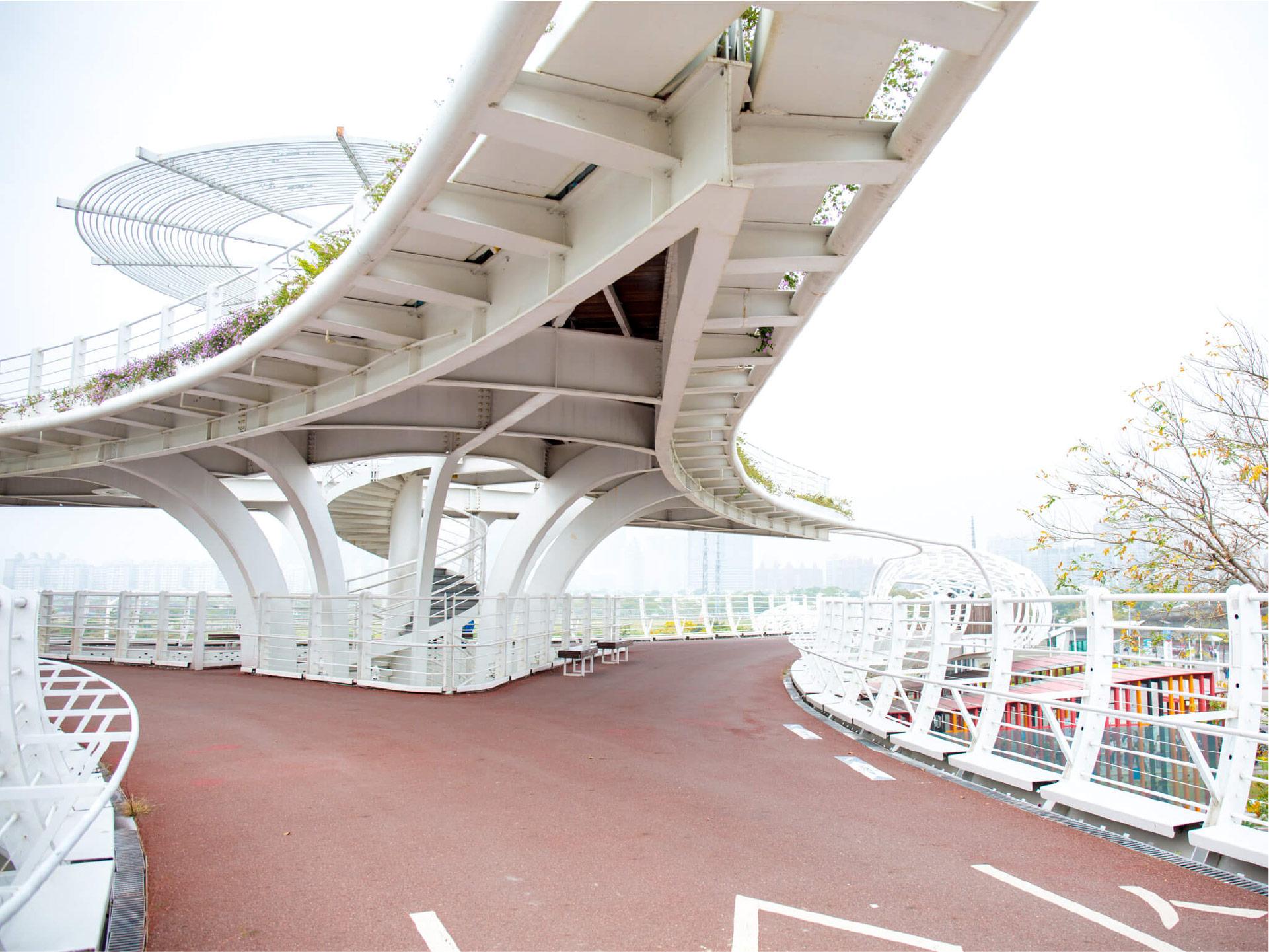 前鎮之星空中單車橋
