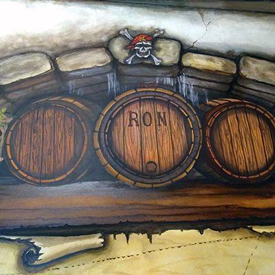 Rum crates