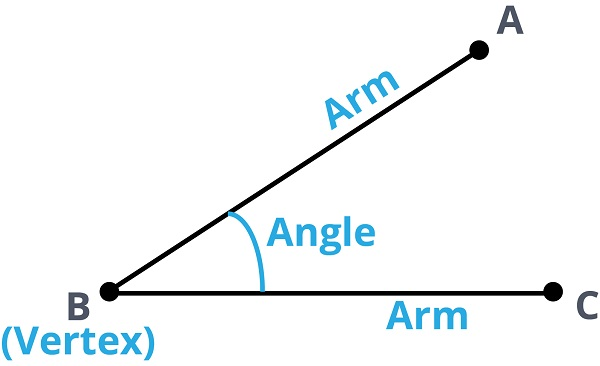 parts of an angle
