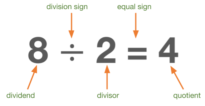 Division Equation Review