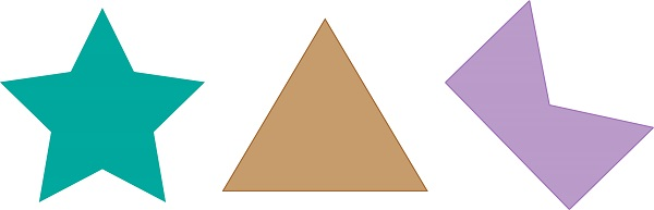 some examples of polygons
