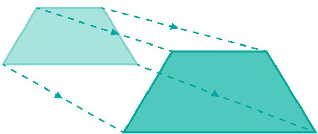 enlarging the trapezoid