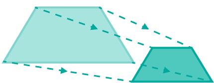 shrinking the trapezoid