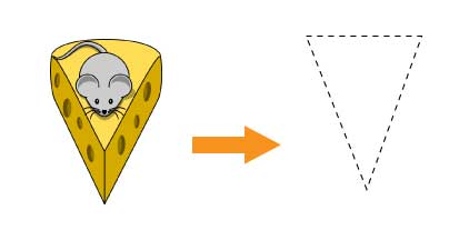 Cheese - Triangular Prism