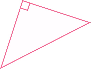 one of the angles of the triangle is a right angle
