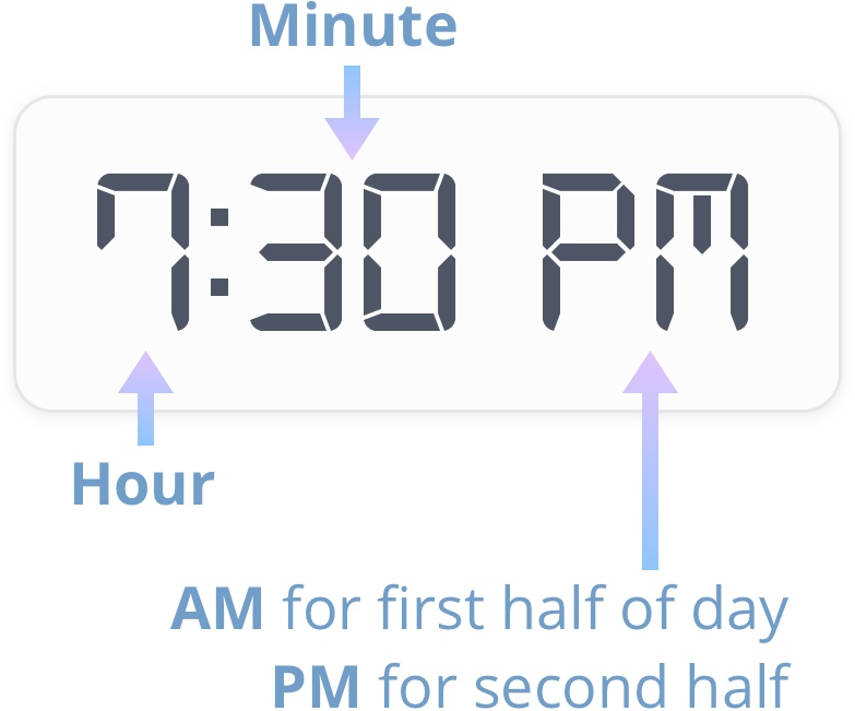 hour and minute