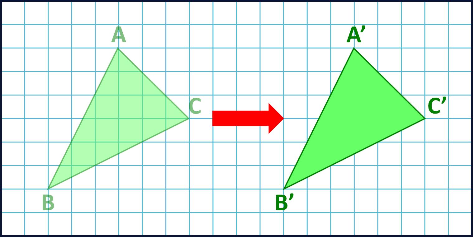 sliding the triangle sideways