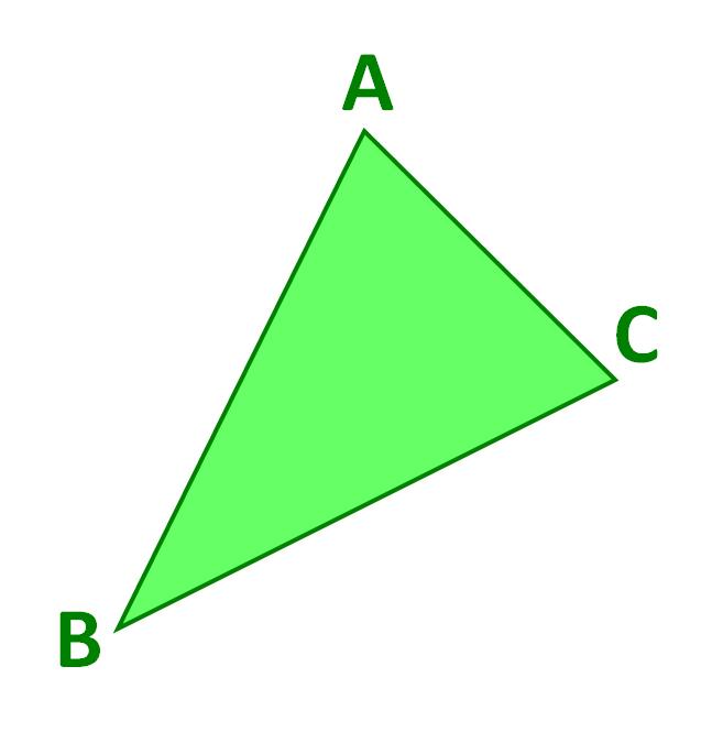 triangle A B C