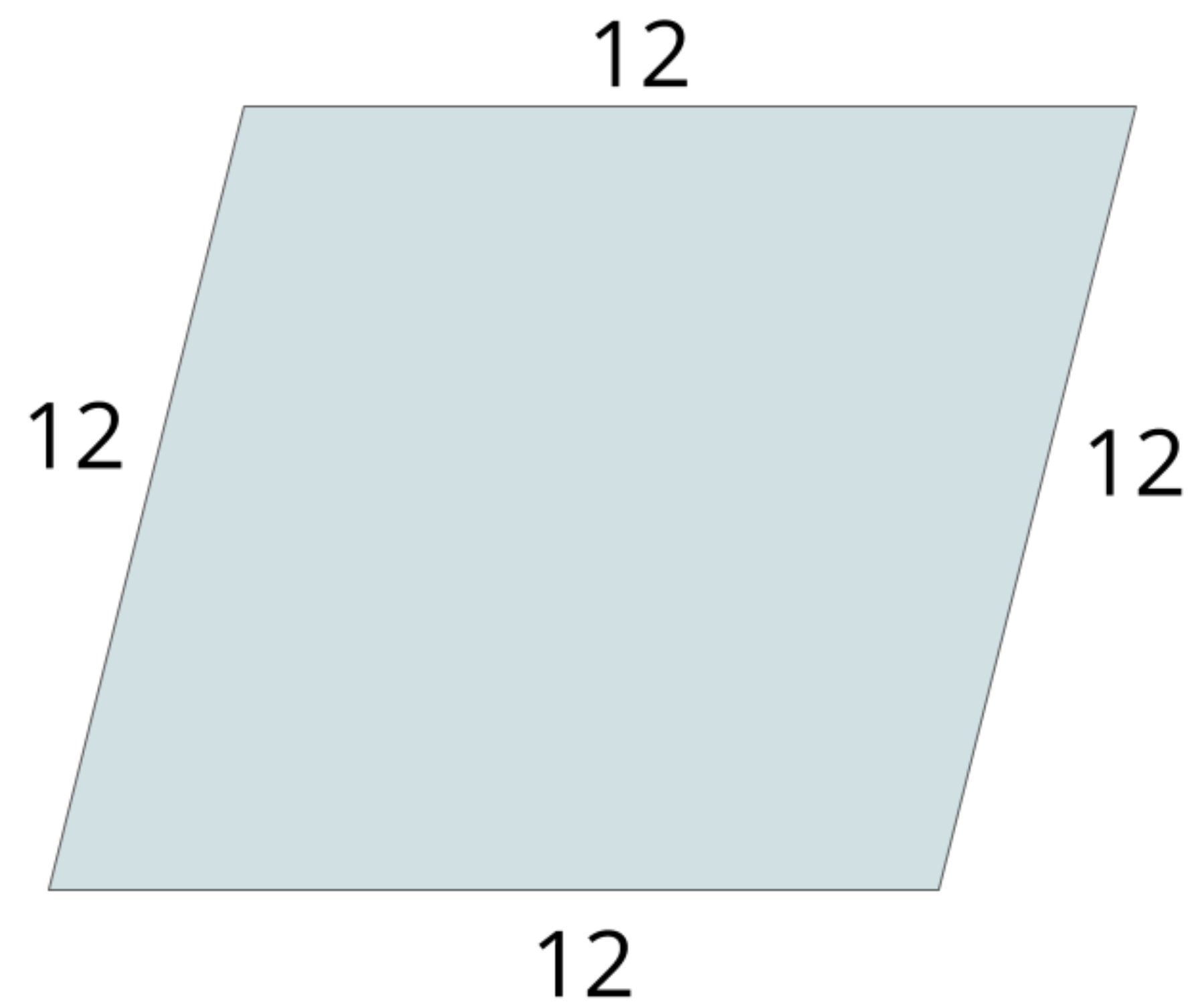 this is a rhombus