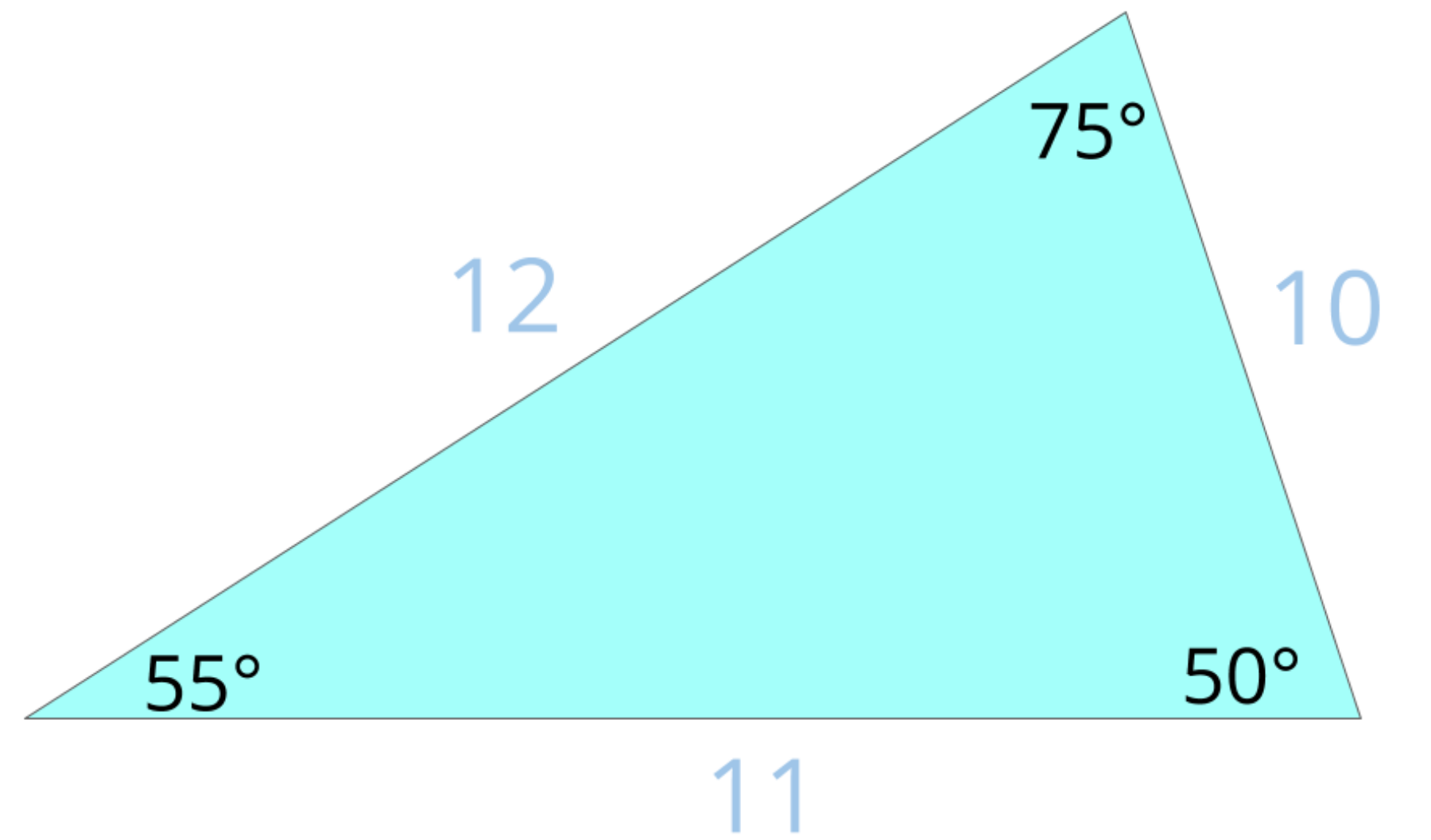 this is a scalene triangle