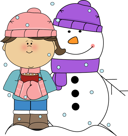A girl is standing next to the snowman she built.
