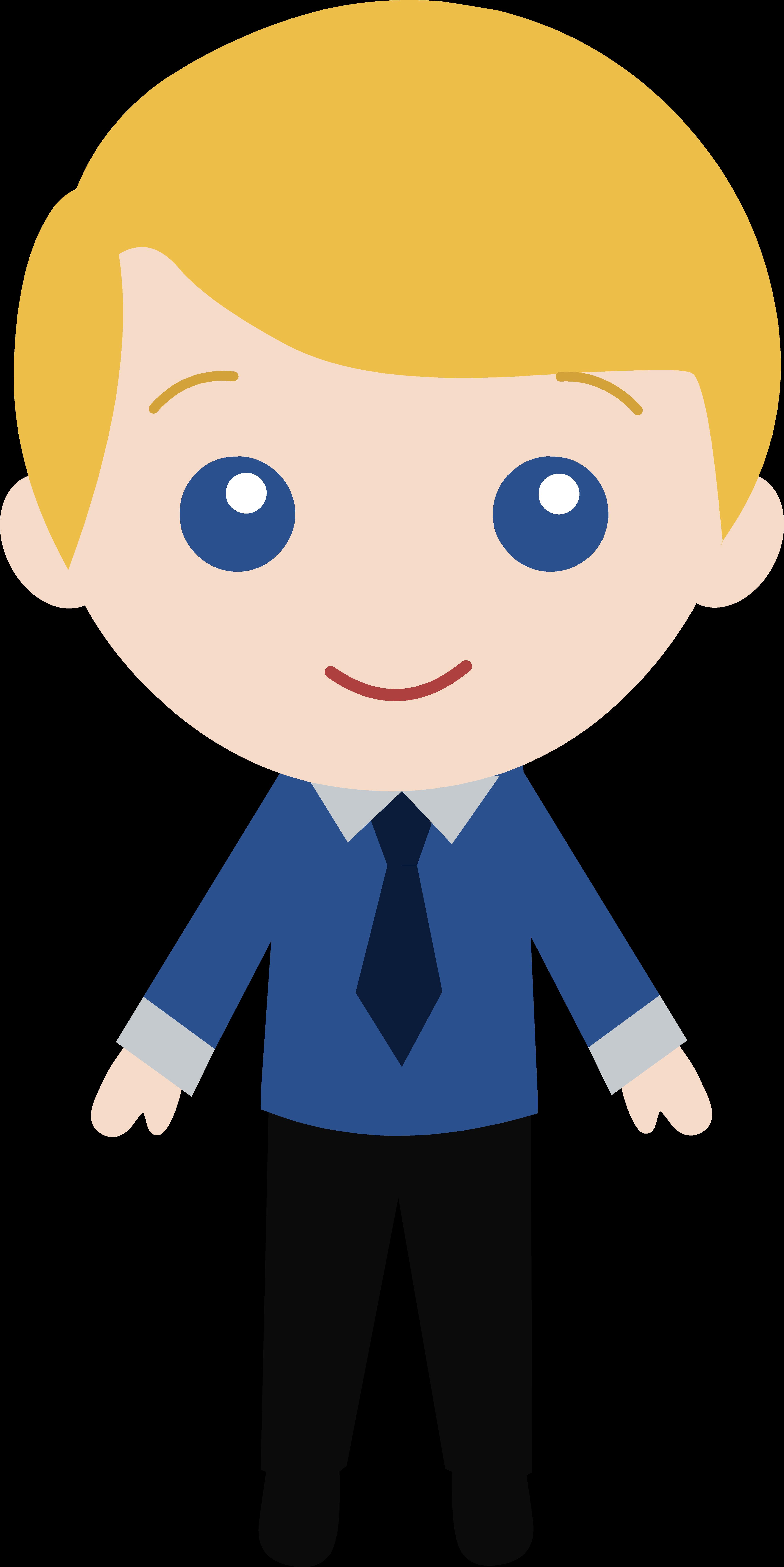 Boy with blue eyes.