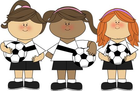 Girls soccer team