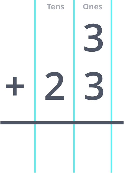 3 + 23