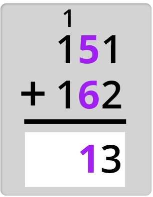 adding the tens