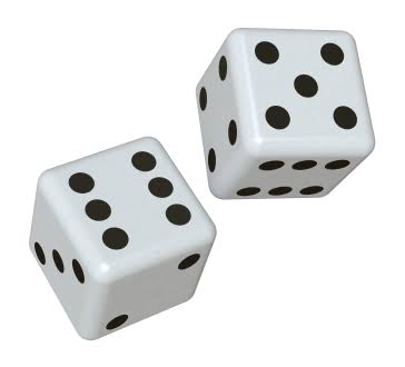 Dice are a 3D shape called a cube.