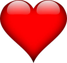 A big red heart.
