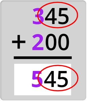 345 + 200 = 545