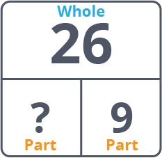 part-whole diagram for 26