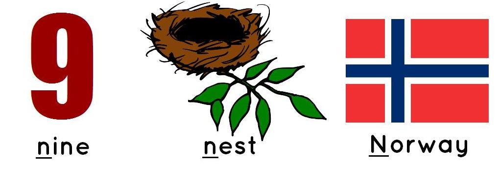 nine, nest, Norway