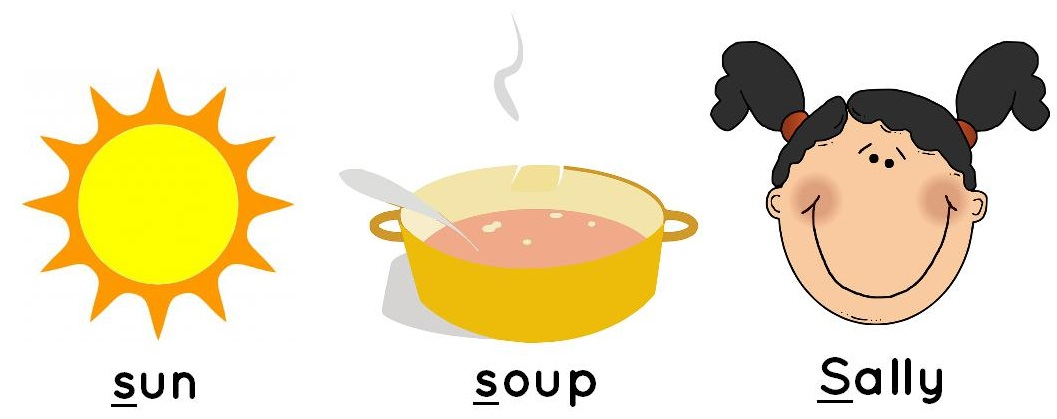sun, soup, Sally