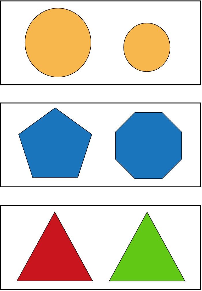 sets of shapes