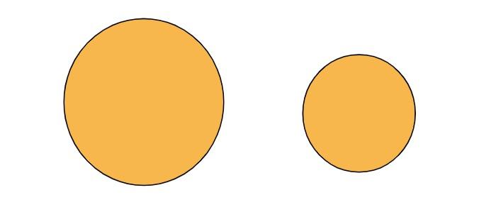 a pair of circles