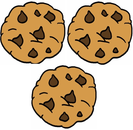 three cookies
